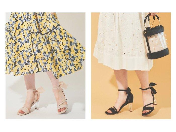 【31 Sons de mode/トランテアン ソン ドゥ モード】のフェイクレザーキルティングバックリボンサンダル 【シューズ・靴】おすすめ!人気、トレンド・レディースファッションの通販  おすすめファッション通販アイテム レディースファッション・服の通販 founy(ファニー)  ファッション Fashion レディースファッション WOMEN 2021年 2021 2021春夏・S/S SS/Spring/Summer/2021 S/S・春夏 SS・Spring/Summer オーガンジー キルティング キルト サンダル シューズ フェミニン ミュール ラップ リボン |ID:crp329100000038347