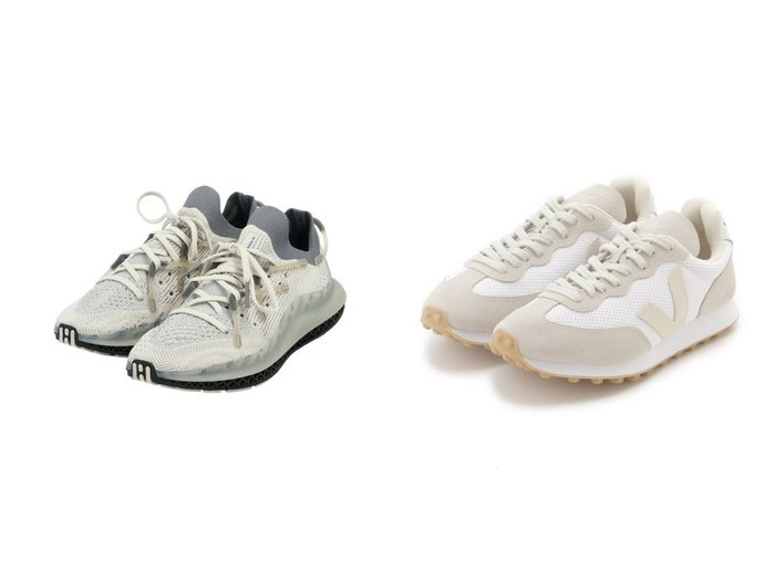 【adidas Originals/アディダス オリジナルス】の4D FUSIO アディダスオリジナルス&【emmi/エミ】の【Veja】RIO BRANCO 【シューズ・靴】おすすめ!人気、トレンド・レディースファッションの通販  おすすめファッション通販アイテム レディースファッション・服の通販 founy(ファニー) ファッション Fashion レディースファッション WOMEN シューズ スニーカー スポーツ スリッポン プリント ミックス メンズ ランニング スエード パッチ メッシュ 人気 |ID:crp329100000038350
