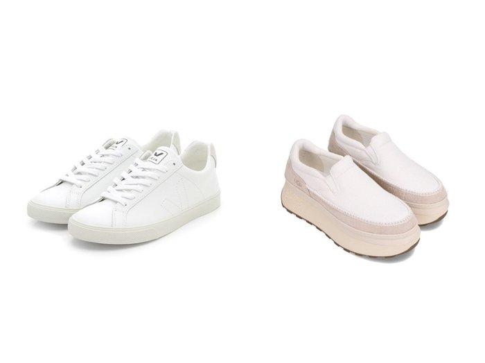 【UGG Australia/アグ】のUGG Marin Slip On&【emmi/エミ】の【Veja】ESPLAR 【シューズ・靴】おすすめ!人気、トレンド・レディースファッションの通販  おすすめファッション通販アイテム インテリア・キッズ・メンズ・レディースファッション・服の通販 founy(ファニー) https://founy.com/ ファッション Fashion レディースファッション WOMEN シューズ スタイリッシュ スニーカー スリッポン チェーン ラバー ワーク キャンバス スエード ライニング |ID:crp329100000038352
