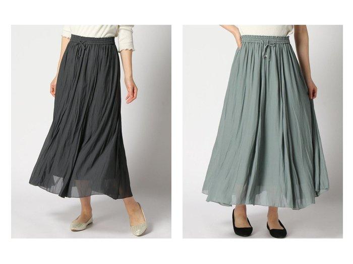 【GLOBAL WORK/グローバルワーク】のエアリーボイルフレアスカート 【プチプライス】おすすめ!人気トレンド・ファッション通販 おすすめファッション通販アイテム レディースファッション・服の通販 founy(ファニー) ファッション Fashion レディースファッション WOMEN スカート Skirt Aライン/フレアスカート Flared A-Line Skirts NEW・新作・新着・新入荷 New Arrivals シアー バランス フェミニン フレア 切替 |ID:crp329100000038524