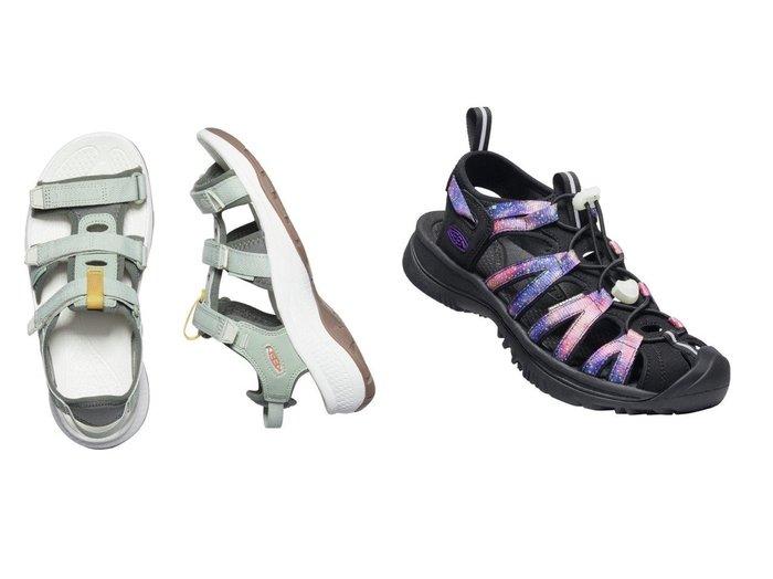 【KEEN/キーン】の(WOMEN)WHISPER&(WOMEN)ASTORIA WEST OPEN TOE 【シューズ・靴】おすすめ!人気、トレンド・レディースファッションの通販 おすすめファッション通販アイテム インテリア・キッズ・メンズ・レディースファッション・服の通販 founy(ファニー) https://founy.com/ ファッション Fashion レディースファッション WOMEN ウォッシャブル クッション 軽量 サンダル シューズ シンプル フィット フェミニン ミュール ライニング ラバー タオル ビーチ NEW・新作・新着・新入荷 New Arrivals |ID:crp329100000038586