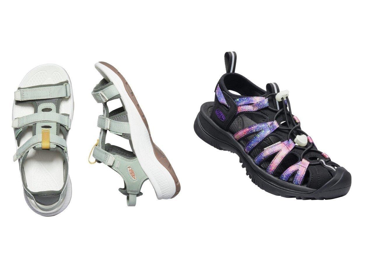 【KEEN/キーン】の(WOMEN)WHISPER&(WOMEN)ASTORIA WEST OPEN TOE 【シューズ・靴】おすすめ!人気、トレンド・レディースファッションの通販 おすすめで人気の流行・トレンド、ファッションの通販商品 メンズファッション・キッズファッション・インテリア・家具・レディースファッション・服の通販 founy(ファニー) https://founy.com/ ファッション Fashion レディースファッション WOMEN ウォッシャブル クッション 軽量 サンダル シューズ シンプル フィット フェミニン ミュール ライニング ラバー タオル ビーチ NEW・新作・新着・新入荷 New Arrivals |ID:crp329100000038586