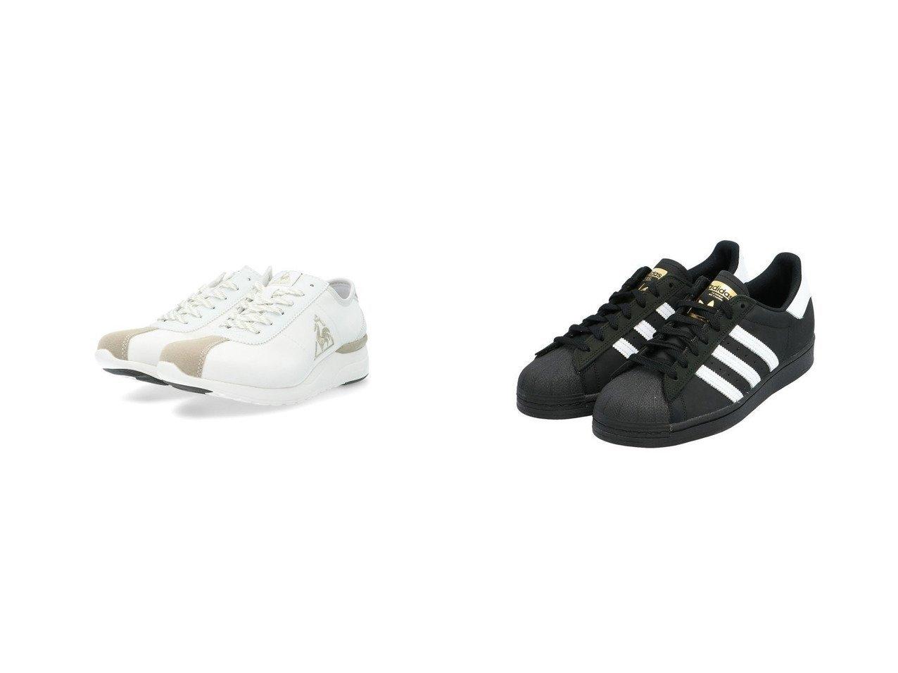 【adidas Originals/アディダス オリジナルス】の【アディダス スケートボーディング】スーパースター Superstar FV0321&【le coq sportif/ルコックスポルティフ】のヒールアップスニーカー 【シューズ・靴】おすすめ!人気、トレンド・レディースファッションの通販 おすすめで人気の流行・トレンド、ファッションの通販商品 メンズファッション・キッズファッション・インテリア・家具・レディースファッション・服の通販 founy(ファニー) https://founy.com/ ファッション Fashion レディースファッション WOMEN シューズ スニーカー スリッポン 人気 今季 インソール フェミニン 軽量 |ID:crp329100000038587