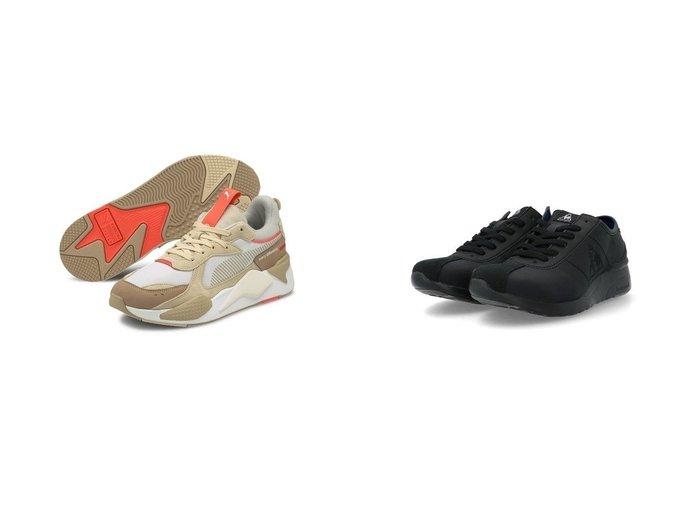 【le coq sportif/ルコックスポルティフ】のヒールアップスニーカー&【PUMA/プーマ】のRS-X コンベイ スニーカー ユニセックス 【シューズ・靴】おすすめ!人気、トレンド・レディースファッションの通販 おすすめファッション通販アイテム レディースファッション・服の通販 founy(ファニー) ファッション Fashion レディースファッション WOMEN インソール シューズ スニーカー スリッポン フェミニン 軽量 2021年 2021 2021春夏・S/S SS/Spring/Summer/2021 S/S・春夏 SS・Spring/Summer コレクション パフォーマンス 春 Spring |ID:crp329100000038588