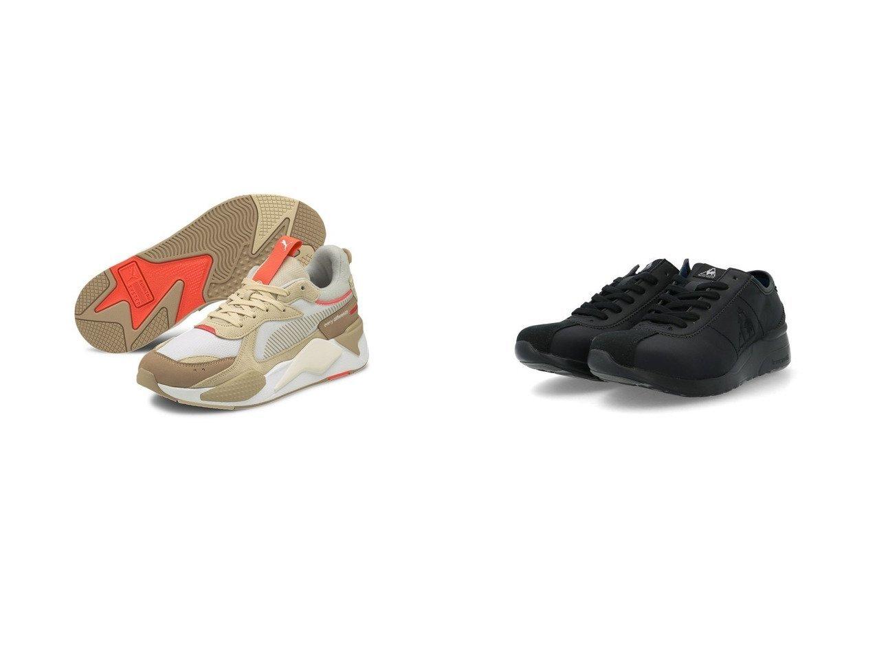 【le coq sportif/ルコックスポルティフ】のヒールアップスニーカー&【PUMA/プーマ】のRS-X コンベイ スニーカー ユニセックス 【シューズ・靴】おすすめ!人気、トレンド・レディースファッションの通販 おすすめで人気の流行・トレンド、ファッションの通販商品 メンズファッション・キッズファッション・インテリア・家具・レディースファッション・服の通販 founy(ファニー) https://founy.com/ ファッション Fashion レディースファッション WOMEN インソール シューズ スニーカー スリッポン フェミニン 軽量 2021年 2021 2021春夏・S/S SS/Spring/Summer/2021 S/S・春夏 SS・Spring/Summer コレクション パフォーマンス 春 Spring |ID:crp329100000038588