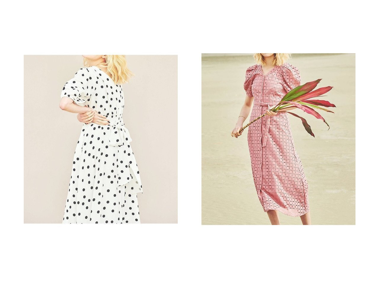 【The Virgnia/ザ ヴァージニア】のカシュクール2WAYワンピース&カットワーク幾何学刺しゅうワンピース 【ワンピース・ドレス】おすすめ!人気、トレンド・レディースファッションの通販 おすすめで人気の流行・トレンド、ファッションの通販商品 メンズファッション・キッズファッション・インテリア・家具・レディースファッション・服の通販 founy(ファニー) https://founy.com/ ファッション Fashion レディースファッション WOMEN ワンピース Dress イエロー カシュクール スリーブ ドット ロング クラシカル コルセット ワーク 切替  ID:crp329100000038647