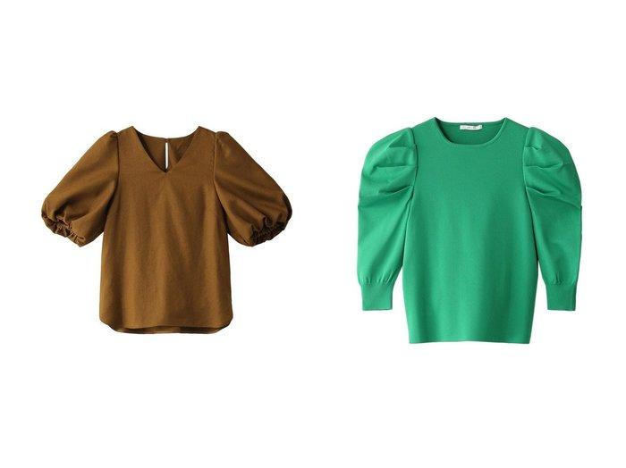 【ANAYI/アナイ】のアセテートナイロンタックスリーブプルオーバー&リネンライクブラウス 【トップス・カットソー】おすすめ!人気、トレンド・レディースファッションの通販 おすすめファッション通販アイテム レディースファッション・服の通販 founy(ファニー) ファッション Fashion レディースファッション WOMEN トップス・カットソー Tops/Tshirt シャツ/ブラウス Shirts/Blouses ニット Knit Tops プルオーバー Pullover おすすめ Recommend スリーブ セットアップ ロング |ID:crp329100000038679
