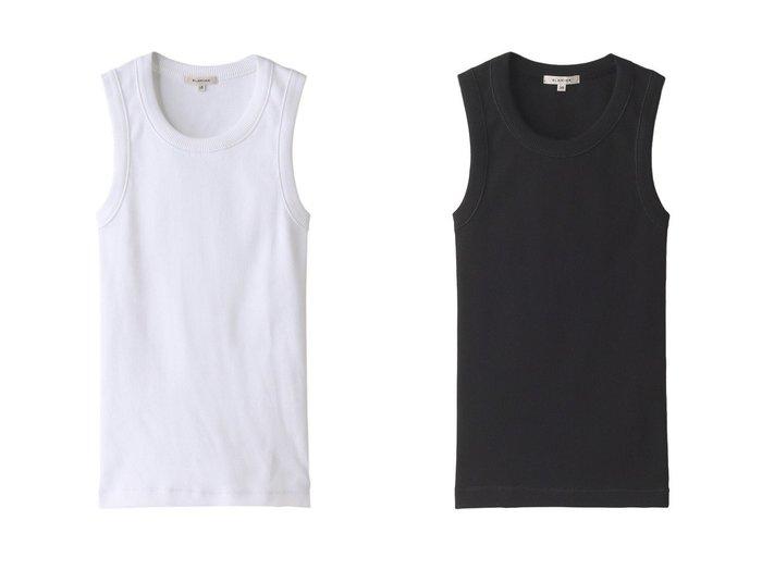 【BLAMINK/ブラミンク】のコットンリブノースリーブカットソー 【トップス・カットソー】おすすめ!人気、トレンド・レディースファッションの通販 おすすめファッション通販アイテム インテリア・キッズ・メンズ・レディースファッション・服の通販 founy(ファニー) https://founy.com/ ファッション Fashion レディースファッション WOMEN トップス・カットソー Tops/Tshirt キャミソール / ノースリーブ No Sleeves シャツ/ブラウス Shirts/Blouses ロング / Tシャツ T-Shirts カットソー Cut and Sewn インナー キャミソール スリーブ タンク パイピング |ID:crp329100000038691