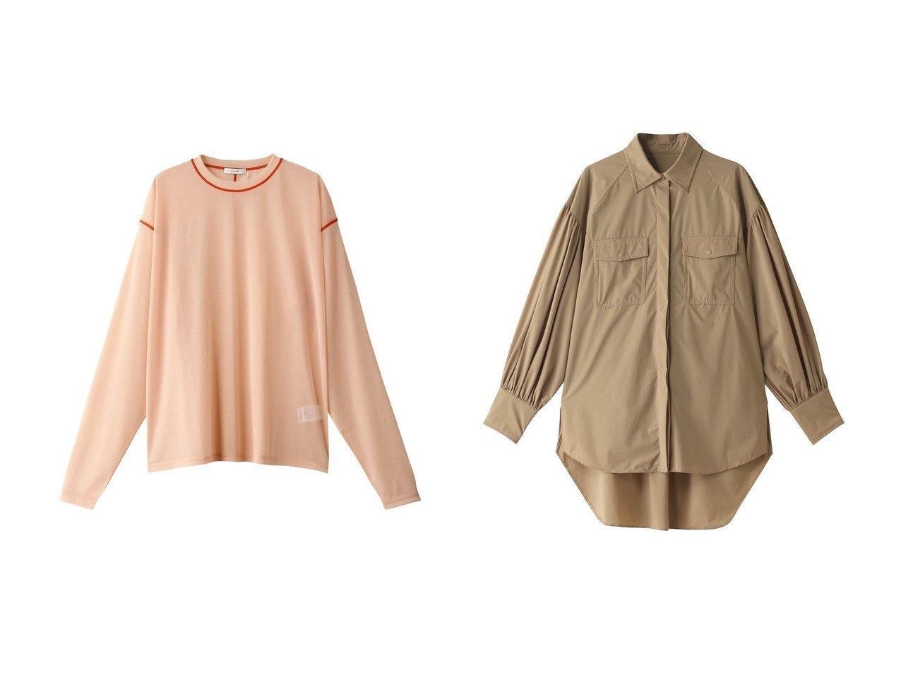 【Speedo/スピード】の【ELLE SHOP × SPEEDO × ETRE TOKYO Collaboration】オーバーサイズシャツ&【CLANE/クラネ】のS ロングスリーブシャツ 【トップス・カットソー】おすすめ!人気、トレンド・レディースファッションの通販 おすすめで人気の流行・トレンド、ファッションの通販商品 メンズファッション・キッズファッション・インテリア・家具・レディースファッション・服の通販 founy(ファニー) https://founy.com/ ファッション Fashion レディースファッション WOMEN トップス・カットソー Tops/Tshirt シャツ/ブラウス Shirts/Blouses ロング / Tシャツ T-Shirts カットソー Cut and Sewn スポーツウェア Sportswear スポーツ トップス Tops スリーブ センター ロング スポーツ 長袖  ID:crp329100000038718