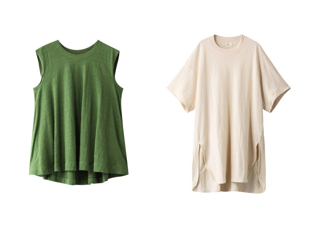 【unfil/アンフィル】のフレンチリネンジャージーノースリーブAライントップ&ペーパージャージー 5XL Tシャツ 【トップス・カットソー】おすすめ!人気、トレンド・レディースファッションの通販 おすすめで人気の流行・トレンド、ファッションの通販商品 メンズファッション・キッズファッション・インテリア・家具・レディースファッション・服の通販 founy(ファニー) https://founy.com/ ファッション Fashion レディースファッション WOMEN トップス・カットソー Tops/Tshirt キャミソール / ノースリーブ No Sleeves シャツ/ブラウス Shirts/Blouses ロング / Tシャツ T-Shirts カットソー Cut and Sewn キャミソール シンプル ジャージー タンク フランス フレア リネン ショート スリット スリーブ ペーパー ロング 半袖  ID:crp329100000038721