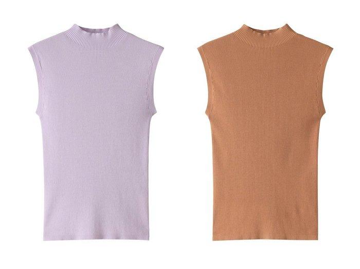 【allureville/アルアバイル】のコットンモダールリブモックネック 【トップス・カットソー】おすすめ!人気、トレンド・レディースファッションの通販 おすすめファッション通販アイテム レディースファッション・服の通販 founy(ファニー) ファッション Fashion レディースファッション WOMEN トップス・カットソー Tops/Tshirt ニット Knit Tops プルオーバー Pullover シンプル フィット |ID:crp329100000038723