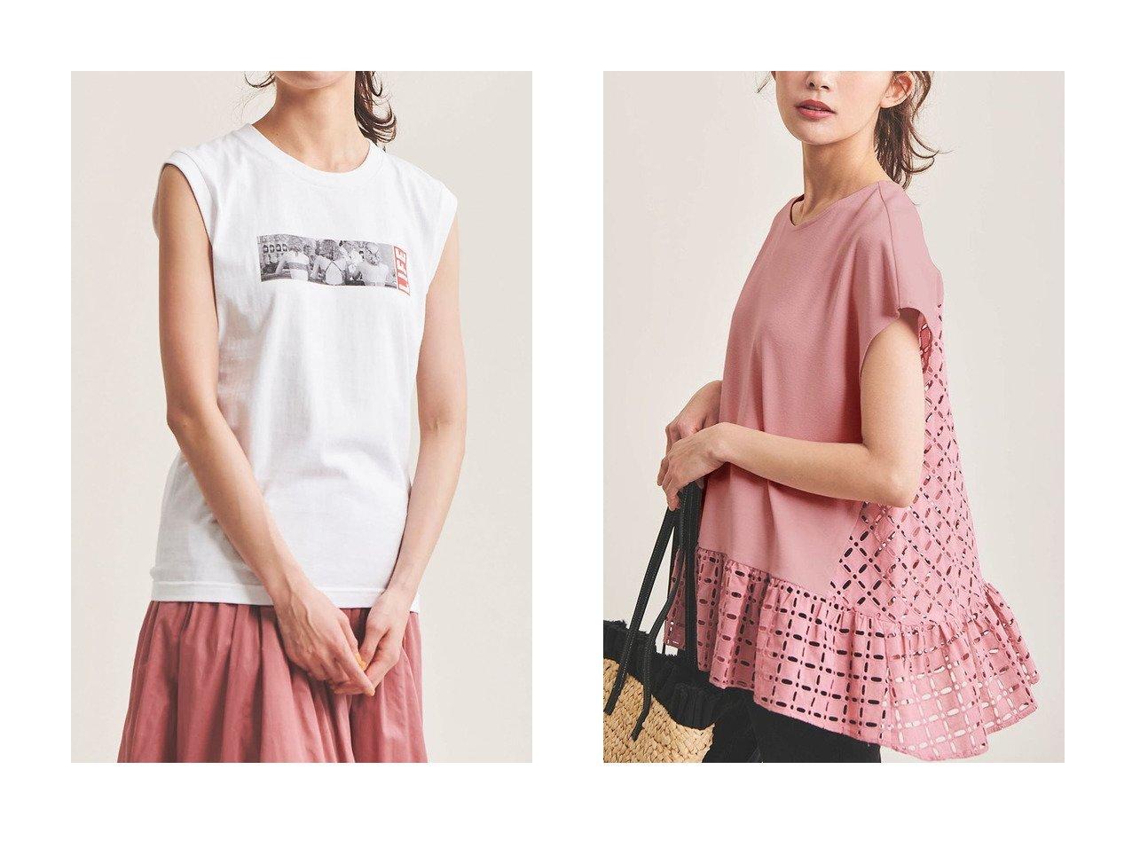 【The Virgnia/ザ ヴァージニア】のカットワーク幾何学刺しゅうトップス&【GOOD ROCK SPEED】LIFE ノースリーブカットソー 【トップス・カットソー】おすすめ!人気、トレンド・レディースファッションの通販 おすすめで人気の流行・トレンド、ファッションの通販商品 メンズファッション・キッズファッション・インテリア・家具・レディースファッション・服の通販 founy(ファニー) https://founy.com/ ファッション Fashion レディースファッション WOMEN トップス・カットソー Tops/Tshirt キャミソール / ノースリーブ No Sleeves シャツ/ブラウス Shirts/Blouses ロング / Tシャツ T-Shirts カットソー Cut and Sewn キャミソール タンク ノースリーブ プリント ヴィンテージ おすすめ Recommend カットソー ギャザー ショート スリーブ チュニック ドッキング レース ワーク  ID:crp329100000038727