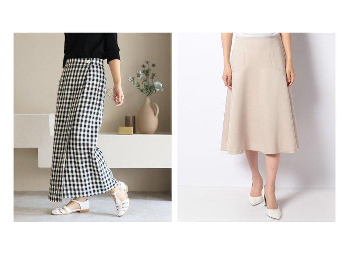 【ANAYI/アナイ】のダブルサテンフレアヘムスカート&【SLOBE IENA/スローブ イエナ】のリネンラップスカート 【スカート】おすすめ!人気、トレンド・レディースファッションの通販 おすすめファッション通販アイテム レディースファッション・服の通販 founy(ファニー) ファッション Fashion レディースファッション WOMEN スカート Skirt Aライン/フレアスカート Flared A-Line Skirts ギャザー フレア ミモレ NEW・新作・新着・新入荷 New Arrivals 2021年 2021 2021春夏・S/S SS/Spring/Summer/2021 S/S・春夏 SS・Spring/Summer シンプル ラップ リネン 今季 |ID:crp329100000039046