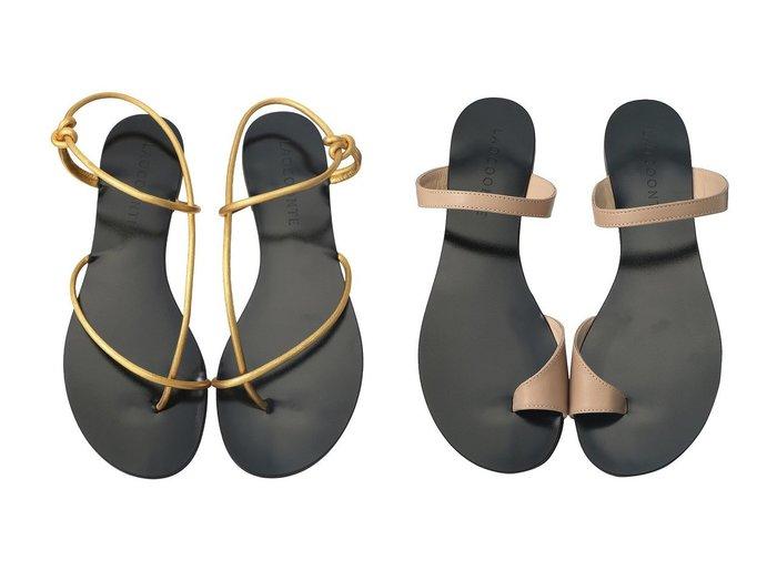 【LAOCOONTE/ラオコンテ】のFlavia チューブストラップサンダル&Alice トゥリングサンダル 【シューズ・靴】おすすめ!人気、トレンド・レディースファッションの通販 おすすめ人気トレンドファッション通販アイテム インテリア・キッズ・メンズ・レディースファッション・服の通販 founy(ファニー) https://founy.com/ ファッション Fashion レディースファッション WOMEN サマー サンダル トレンド フラット ボトム マキシ S/S・春夏 SS・Spring/Summer シンプル デニム ヌーディ リゾート 春 Spring |ID:crp329100000039069