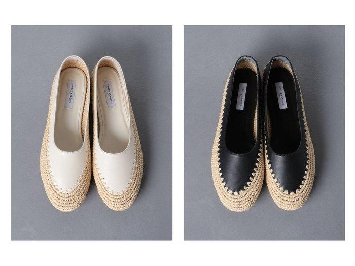 【UNITED ARROWS/ユナイテッドアローズ】のNAT フラットシューズ 【シューズ・靴】おすすめ!人気、トレンド・レディースファッションの通販 おすすめファッション通販アイテム レディースファッション・服の通販 founy(ファニー) ファッション Fashion レディースファッション WOMEN NEW・新作・新着・新入荷 New Arrivals シューズ フラット 手編み |ID:crp329100000039073