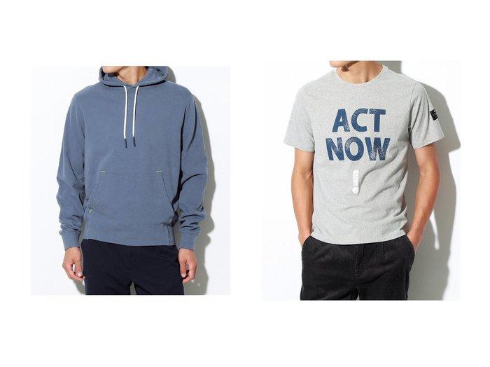 【ECOALF / MEN/エコアルフ】の【MEN】MANDIORE フーディー MANDIORE SWEATSHIRT&【MEN】ACT NOW! Tシャツ TADEO T-SHIRT 【MEN】おすすめ!人気トレンド・男性、メンズファッションの通販 おすすめ人気トレンドファッション通販アイテム 人気、トレンドファッション・服の通販 founy(ファニー) ファッション Fashion メンズファッション MEN トップス・カットソー Tops/Tshirt/Men シャツ Shirts パーカ Sweats ショート スリーブ 再入荷 Restock/Back in Stock/Re Arrival |ID:crp329100000039218