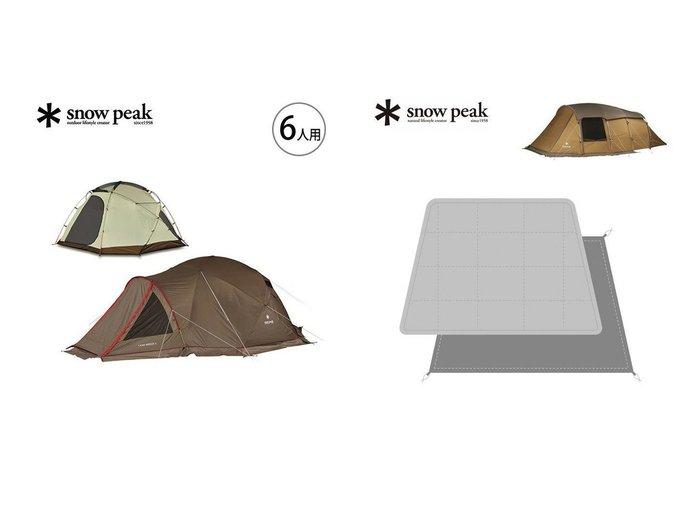 【Snow Peak/スノーピーク】のランドブリーズ 6&エルフィールド マットシートセット おすすめ!人気キャンプ・アウトドア用品の通販 おすすめ人気トレンドファッション通販アイテム 人気、トレンドファッション・服の通販 founy(ファニー) ドッキング フレーム メッシュ ワーク コーティング タフタ ホーム・キャンプ・アウトドア Home,Garden,Outdoor,Camping Gear キャンプ用品・アウトドア  Camping Gear & Outdoor Supplies その他 雑貨 小物 Camping Tools ホーム・キャンプ・アウトドア Home,Garden,Outdoor,Camping Gear キャンプ用品・アウトドア  Camping Gear & Outdoor Supplies マット シート Mat, Sheet |ID:crp329100000039316