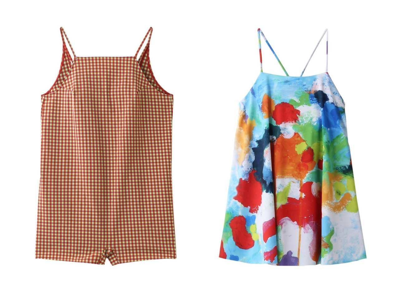 【nagonstans/ナゴンスタンス】のBoiling Sun バッククロスフレア トップ スイムウェア/水着&TIANAギンガムCHECK キャミオールインワン/スイムウェア・水着 【水着】おすすめ!人気、トレンド・レディースファッションの通販 おすすめで人気の流行・トレンド、ファッションの通販商品 メンズファッション・キッズファッション・インテリア・家具・レディースファッション・服の通販 founy(ファニー) https://founy.com/ ファッション Fashion レディースファッション WOMEN 水着 Swimwear 水着 Swimwear おすすめ Recommend ギンガム ショーツ ショート スポーツ セットアップ チェック ビーチ 水着  ID:crp329100000039455