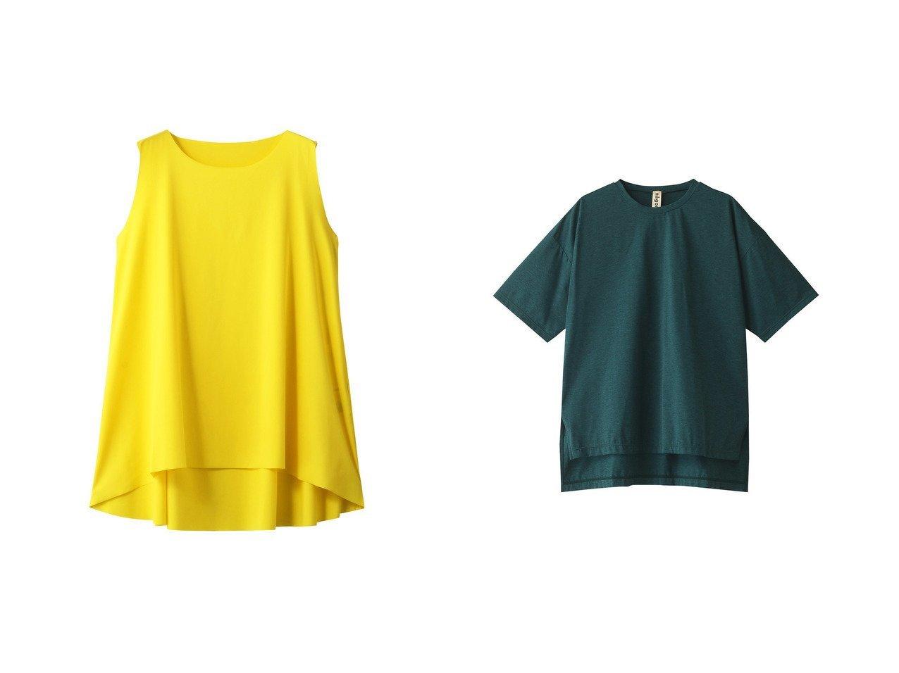【nagonstans/ナゴンスタンス】のVITA フレアトップ スイムウェア/水着&FANTASIA Tシャツラッシュガード/スイムウェア・水着 【水着】おすすめ!人気、トレンド・レディースファッションの通販 おすすめで人気の流行・トレンド、ファッションの通販商品 メンズファッション・キッズファッション・インテリア・家具・レディースファッション・服の通販 founy(ファニー) https://founy.com/ ファッション Fashion レディースファッション WOMEN 水着 Swimwear 水着 Swimwear シンプル スポーツ スリット 半袖 水着  ID:crp329100000039463