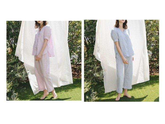 【TOCCA/トッカ】の【LOUNGE WEAR】Airly W Gauze Pajamas long pants set パジャマ 【ルームウェア】おすすめ!人気、トレンド・レディースファッションの通販 おすすめ人気トレンドファッション通販アイテム インテリア・キッズ・メンズ・レディースファッション・服の通販 founy(ファニー) https://founy.com/ ファッション Fashion レディースファッション WOMEN パンツ Pants 送料無料 Free Shipping アンダー パジャマ |ID:crp329100000039481