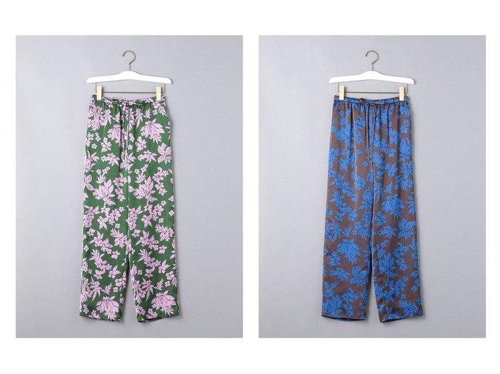 【UNITED ARROWS/ユナイテッドアローズ】のUWCC リーフフラワー イージーパンツ 【パンツ】おすすめ!人気、トレンド・レディースファッションの通販 おすすめファッション通販アイテム レディースファッション・服の通販 founy(ファニー) ファッション Fashion レディースファッション WOMEN パンツ Pants NEW・新作・新着・新入荷 New Arrivals ジャケット ジーンズ フラワー ボタニカル リラックス リーフ |ID:crp329100000039510