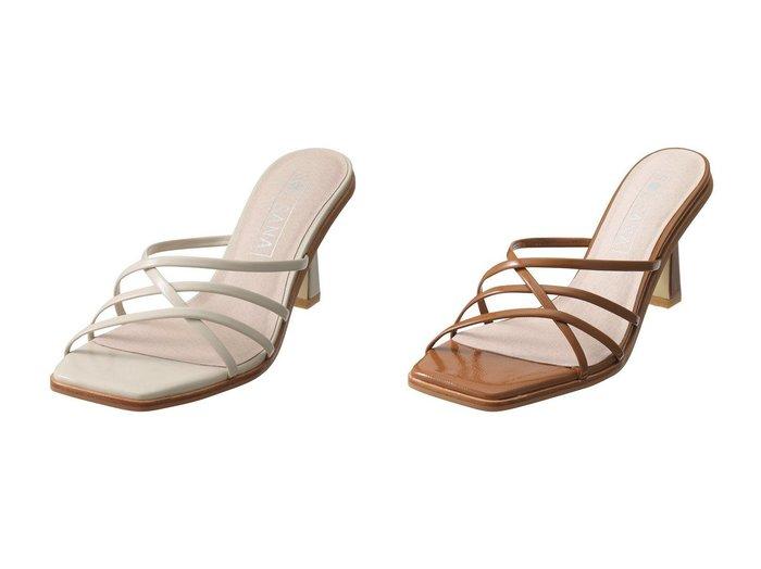 【JET/ジェット】の【JET LOSANGELES】【SOL SANA】Elora Muleサンダル 【シューズ・靴】おすすめ!人気、トレンド・レディースファッションの通販 おすすめファッション通販アイテム インテリア・キッズ・メンズ・レディースファッション・服の通販 founy(ファニー) https://founy.com/ ファッション Fashion レディースファッション WOMEN なめらか サンダル マキシ ラップ |ID:crp329100000039529