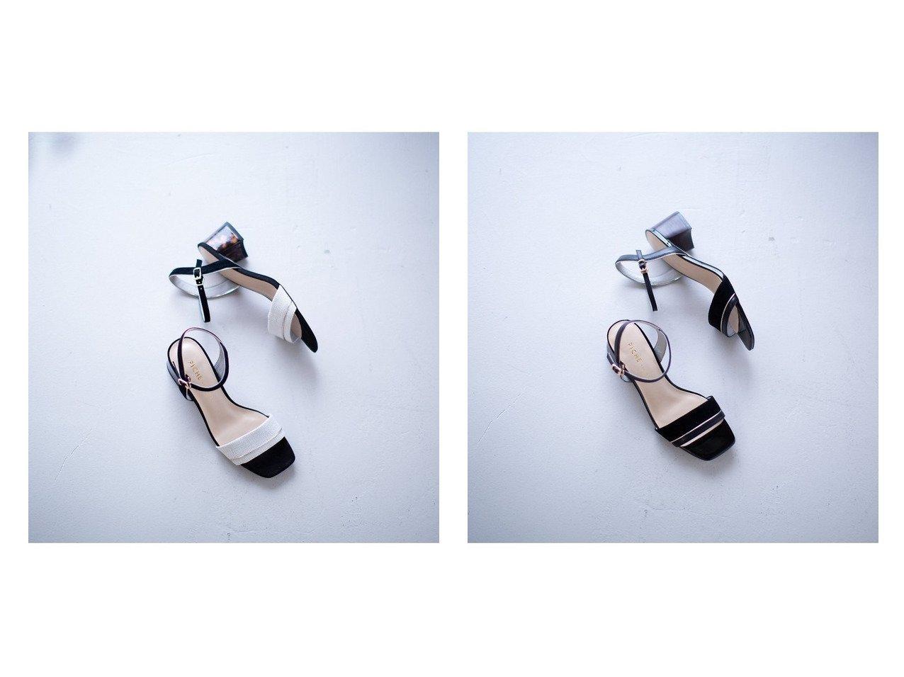 【Piche Abahouse/ピシェ アバハウス】のブロックヒールサンダル 【シューズ・靴】おすすめ!人気、トレンド・レディースファッションの通販 おすすめで人気の流行・トレンド、ファッションの通販商品 メンズファッション・キッズファッション・インテリア・家具・レディースファッション・服の通販 founy(ファニー) https://founy.com/ ファッション Fashion レディースファッション WOMEN サンダル シューズ シンプル スエード ストラップサンダル ファブリック ブロック ミュール |ID:crp329100000039539