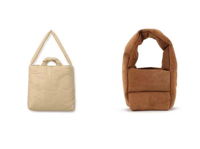 【KASSL EDITIONS/カッスル エディションズ】のBAG MONK SMALL&BAG PILLOW MEDIUM 【バッグ・鞄】おすすめ!人気、トレンド・レディースファッションの通販 おすすめファッション通販アイテム インテリア・キッズ・メンズ・レディースファッション・服の通販 founy(ファニー) https://founy.com/ ファッション Fashion レディースファッション WOMEN バッグ Bag 2021年 2021 2021春夏・S/S SS/Spring/Summer/2021 S/S・春夏 SS・Spring/Summer オイル クッション ショルダー スクエア フォルム シェイプ シンプル ハンドバッグ フィット ラップ ワイド |ID:crp329100000039546