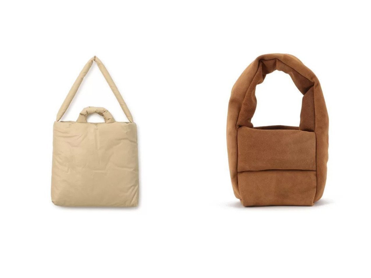 【KASSL EDITIONS/カッスル エディションズ】のBAG MONK SMALL&BAG PILLOW MEDIUM 【バッグ・鞄】おすすめ!人気、トレンド・レディースファッションの通販 おすすめで人気の流行・トレンド、ファッションの通販商品 メンズファッション・キッズファッション・インテリア・家具・レディースファッション・服の通販 founy(ファニー) https://founy.com/ ファッション Fashion レディースファッション WOMEN バッグ Bag 2021年 2021 2021春夏・S/S SS/Spring/Summer/2021 S/S・春夏 SS・Spring/Summer オイル クッション ショルダー スクエア フォルム シェイプ シンプル ハンドバッグ フィット ラップ ワイド |ID:crp329100000039546