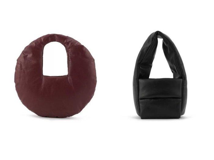 【KASSL EDITIONS/カッスル エディションズ】のBAG MONK SMALL&BAG CIRCLE MEDIUM 【バッグ・鞄】おすすめ!人気、トレンド・レディースファッションの通販 おすすめファッション通販アイテム インテリア・キッズ・メンズ・レディースファッション・服の通販 founy(ファニー) https://founy.com/ ファッション Fashion レディースファッション WOMEN 2021年 2021 2021春夏・S/S SS/Spring/Summer/2021 S/S・春夏 SS・Spring/Summer オイル クッション サークル ショルダー ハンドバッグ フォルム シェイプ シンプル フィット ラップ ワイド |ID:crp329100000039547