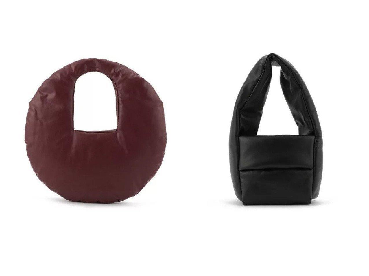 【KASSL EDITIONS/カッスル エディションズ】のBAG MONK SMALL&BAG CIRCLE MEDIUM 【バッグ・鞄】おすすめ!人気、トレンド・レディースファッションの通販 おすすめで人気の流行・トレンド、ファッションの通販商品 メンズファッション・キッズファッション・インテリア・家具・レディースファッション・服の通販 founy(ファニー) https://founy.com/ ファッション Fashion レディースファッション WOMEN 2021年 2021 2021春夏・S/S SS/Spring/Summer/2021 S/S・春夏 SS・Spring/Summer オイル クッション サークル ショルダー ハンドバッグ フォルム シェイプ シンプル フィット ラップ ワイド |ID:crp329100000039547