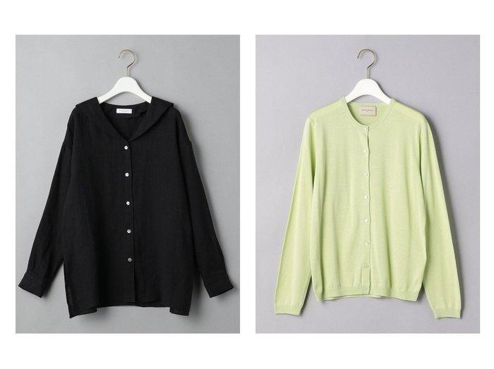 おすすめファッション通販アイテム レディースファッション・服の通販 founy(ファニー) ファッション Fashion レディースファッション WOMEN トップス・カットソー Tops/Tshirt ニット Knit Tops カーディガン Cardigans シャツ/ブラウス Shirts/Blouses おすすめ Recommend アンサンブル カーディガン シルク シンプル NEW・新作・新着・新入荷 New Arrivals ウォッシャブル 定番 Standard 羽織 長袖 |ID:crp329100000039617