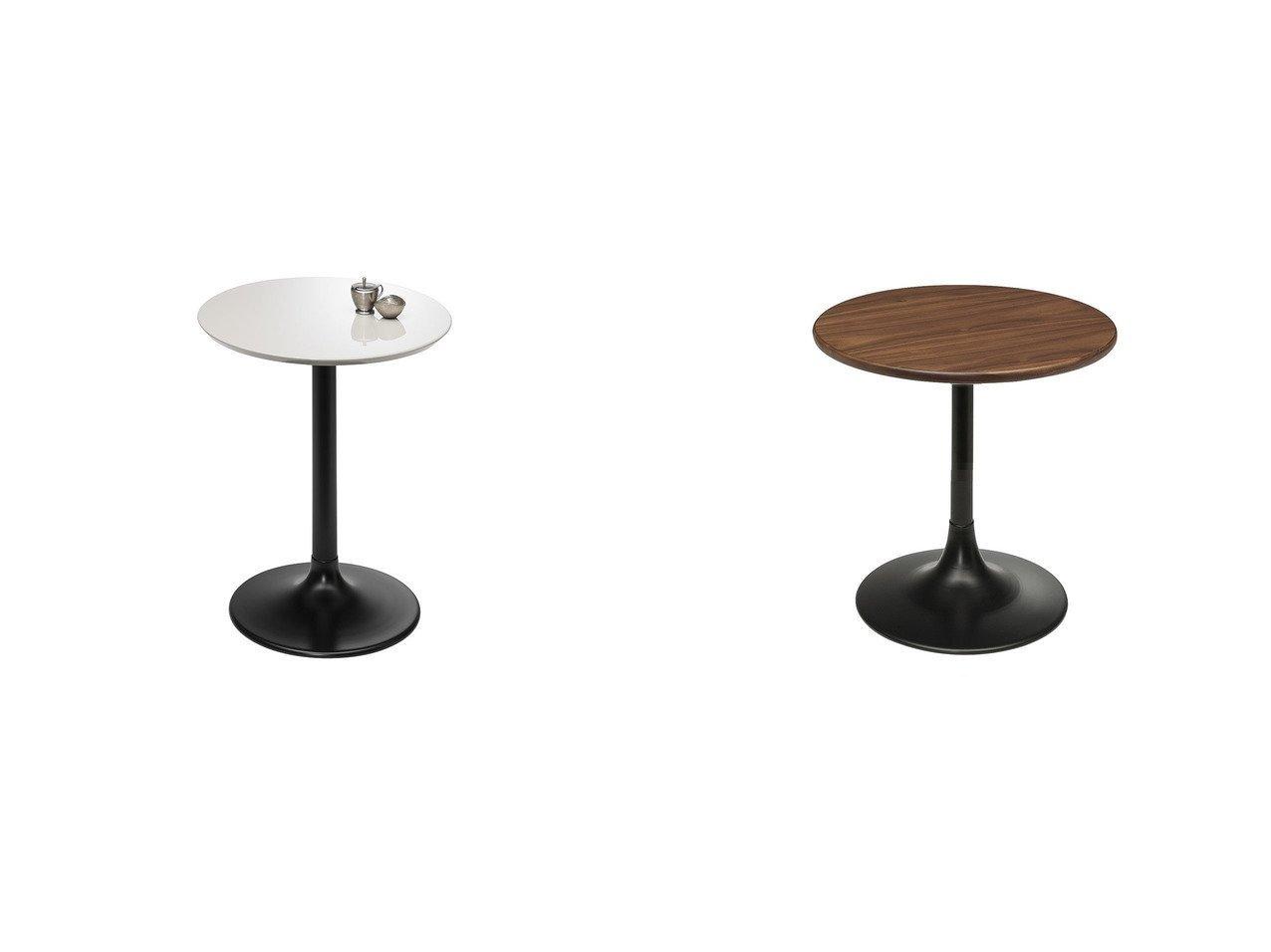 【FLYMEe Noir/フライミー ノワール】のサイドテーブル 高さ60cm f58263(UV塗装)&サイドテーブル 高さ49cm f58262(ウォールナット ウレタン塗装) 【FURNITURE】おすすめ!人気、インテリア・家具の通販 おすすめで人気の流行・トレンド、ファッションの通販商品 メンズファッション・キッズファッション・インテリア・家具・レディースファッション・服の通販 founy(ファニー) https://founy.com/ 送料無料 Free Shipping テーブル ホーム・キャンプ・アウトドア Home,Garden,Outdoor,Camping Gear 家具・インテリア Furniture テーブル Table サイドテーブル・小テーブル |ID:crp329100000039779