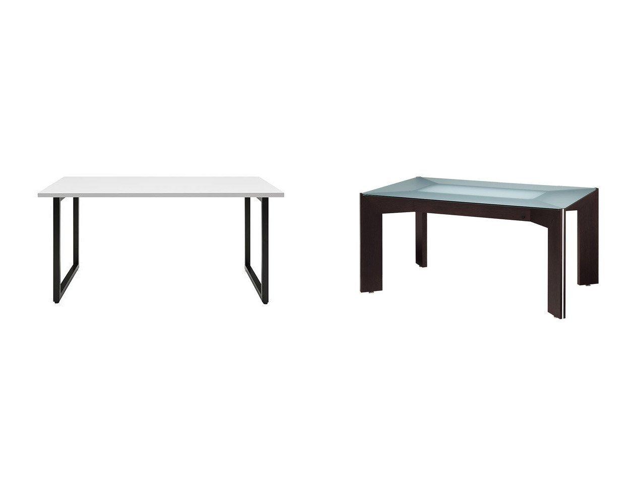 【FLYMEe Noir/フライミー ノワール】のフーガ ダイニングテーブル&ダイニングテーブル 幅150cm f58101(ホワイト天板) 【FURNITURE】おすすめ!人気、インテリア・家具の通販 おすすめで人気の流行・トレンド、ファッションの通販商品 メンズファッション・キッズファッション・インテリア・家具・レディースファッション・服の通販 founy(ファニー) https://founy.com/ テーブル モダン ガラス フレーム ラグジュアリー ホーム・キャンプ・アウトドア Home,Garden,Outdoor,Camping Gear 家具・インテリア Furniture テーブル Table ダイニングテーブル |ID:crp329100000039815