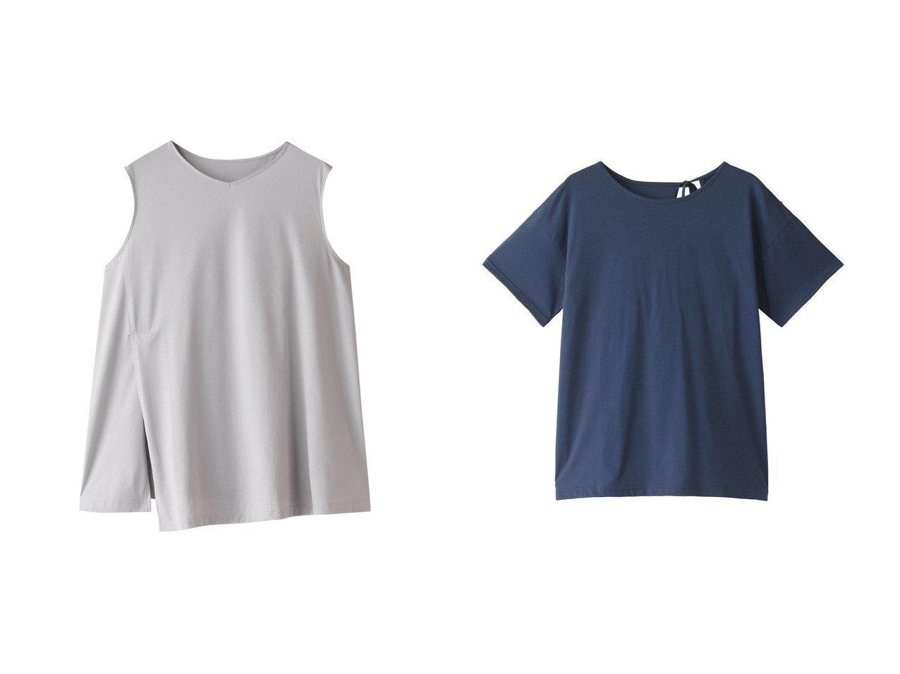 【Julier/ジュリエ】のスピンプラチナムバインドタンクトップ&スピンプラチナムバックオープンTシャツ スポーツ・ヨガウェア、運動・ダイエットグッズなどのおすすめ!人気ファッション通販 おすすめで人気の流行・トレンド、ファッションの通販商品 メンズファッション・キッズファッション・インテリア・家具・レディースファッション・服の通販 founy(ファニー) https://founy.com/ ファッション Fashion レディースファッション WOMEN トップス・カットソー Tops/Tshirt スポーツウェア Sportswear スポーツ トップス Tops シャツ/ブラウス Shirts/Blouses ロング / Tシャツ T-Shirts サマー スポーツ スリット タンク なめらか ヨガ ワーク |ID:crp329100000039858