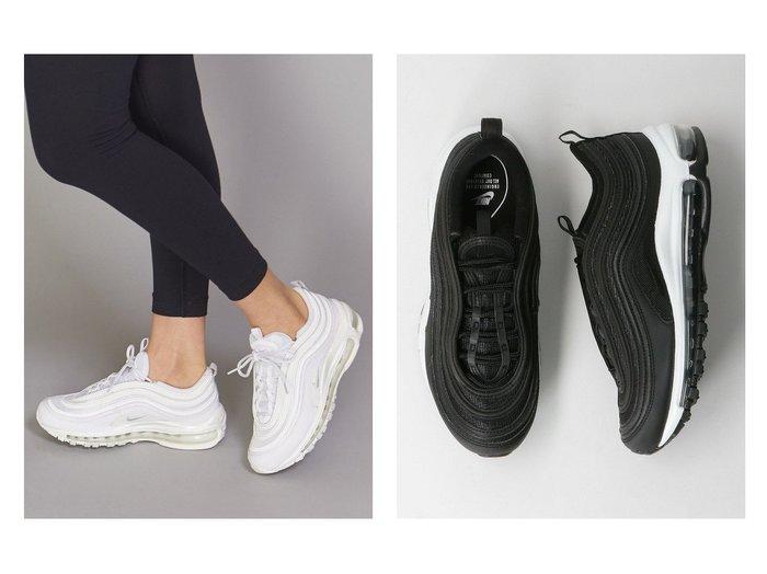 【BEAUTY&YOUTH / UNITED ARROWS/ビューティ&ユース ユナイテッドアローズ】のNIKE(ナイキ) AIR MAX 97 エアマックス/スニーカー 2 【シューズ・靴】おすすめ!人気、トレンド・レディースファッションの通販 おすすめファッション通販アイテム レディースファッション・服の通販 founy(ファニー) ファッション Fashion レディースファッション WOMEN シューズ スニーカー スポーツ スポーティ スリッポン フェミニン フォルム おすすめ Recommend |ID:crp329100000039882