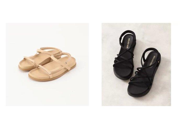【NATURAL BEAUTY BASIC/ナチュラル ビューティー ベーシック】のスポンディッシュチューブサンダル&【NOLLEY'S/ノーリーズ】の【 モヒ】スリムラインスポーティーサンダル 【シューズ・靴】おすすめ!人気、トレンド・レディースファッションの通販 おすすめファッション通販アイテム レディースファッション・服の通販 founy(ファニー) ファッション Fashion レディースファッション WOMEN インソール サンダル シューズ チューブ ラップ ジュート スポーツ スマート フィット フォルム おすすめ Recommend |ID:crp329100000039889