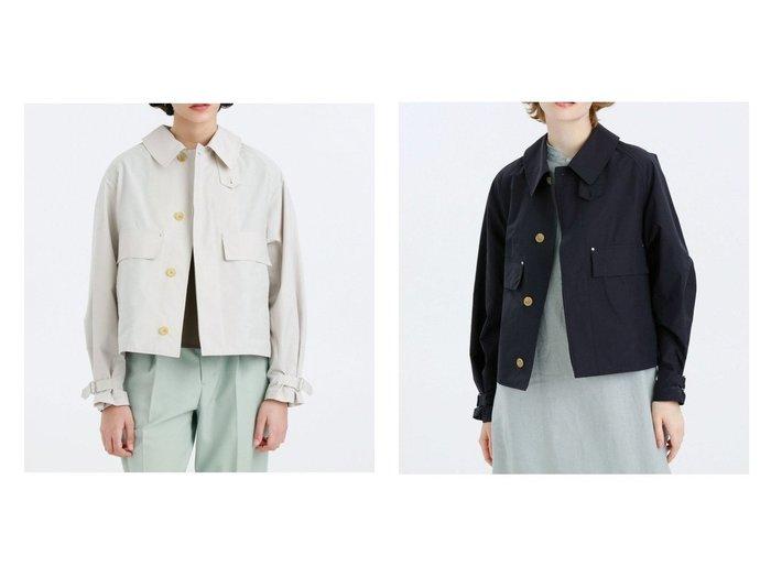 【MACKINTOSH PHILOSOPHY/マッキントッシュ フィロソフィー】のGREY LABEL RAIN RUSPER 【アウター】おすすめ!人気、トレンド・レディースファッションの通販 おすすめファッション通販アイテム レディースファッション・服の通販 founy(ファニー) ファッション Fashion レディースファッション WOMEN アウター Coat Outerwear コート Coats ジャケット Jackets ブルゾン Blouson/Jackets コンパクト ショート ジャケット スタンド スリーブ ファブリック ブラウジング ブルゾン レイン |ID:crp329100000039906