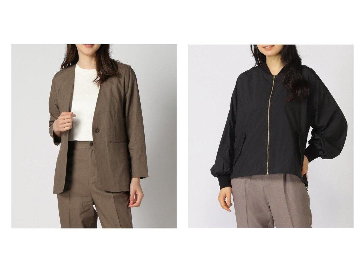 【GLOBAL WORK/グローバルワーク】のエアカルノーカラーブルゾン&リネンコンSETUP JK+D 【プチプライス】おすすめ!人気トレンド・ファッション通販 おすすめで人気の流行・トレンド、ファッションの通販商品 インテリア・家具・メンズファッション・キッズファッション・レディースファッション・服の通販 founy(ファニー) https://founy.com/ ファッション Fashion レディースファッション WOMEN アウター Coat Outerwear コート Coats ジャケット Jackets ノーカラージャケット No Collar Leather Jackets ブルゾン Blouson/Jackets おすすめ Recommend シンプル ジャケット ストレッチ バランス リネン ブルゾン |ID:crp329100000040130