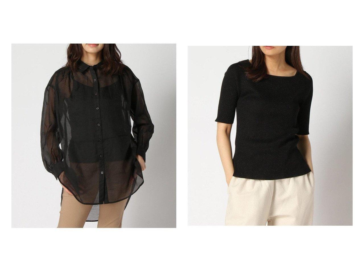 【GLOBAL WORK/グローバルワーク】のアンサンブルラメニットPO+D&シアーソデボリュームシャツ 【プチプライス】おすすめ!人気トレンド・ファッション通販 おすすめで人気の流行・トレンド、ファッションの通販商品 インテリア・家具・メンズファッション・キッズファッション・レディースファッション・服の通販 founy(ファニー) https://founy.com/ ファッション Fashion レディースファッション WOMEN トップス・カットソー Tops/Tshirt シャツ/ブラウス Shirts/Blouses ニット Knit Tops アンサンブル Knit Ensemble おすすめ Recommend インナー ギャザー トレンド ベーシック 今季 長袖 アンサンブル カーディガン キャミワンピース スクエア 半袖 |ID:crp329100000040138