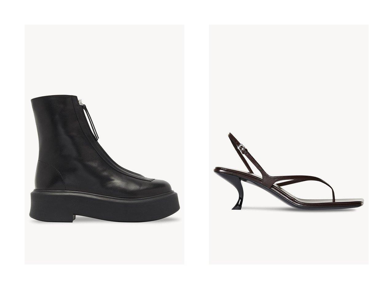 【THE ROW/ザ ロウ】のZIPPED BOOT&CONSTANCE サンダル 【シューズ・靴】おすすめ!人気、トレンド・レディースファッションの通販 おすすめで人気の流行・トレンド、ファッションの通販商品 インテリア・家具・メンズファッション・キッズファッション・レディースファッション・服の通販 founy(ファニー) https://founy.com/ ファッション Fashion レディースファッション WOMEN アンクル ショート ベーシック インソール エレガント サンダル シルバー ラップ |ID:crp329100000040302