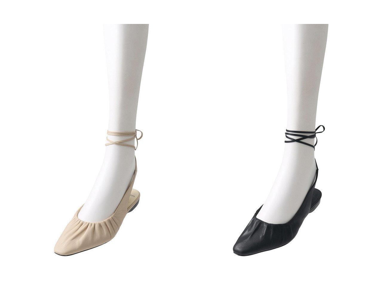 【ESSEN LAUTREAMONT/エッセン ロートレアモン】の【quartierglam】レースアップシューズ 【シューズ・靴】おすすめ!人気、トレンド・レディースファッションの通販 おすすめで人気の流行・トレンド、ファッションの通販商品 インテリア・家具・メンズファッション・キッズファッション・レディースファッション・服の通販 founy(ファニー) https://founy.com/ ファッション Fashion レディースファッション WOMEN なめらか ガーリー ギャザー シューズ フラット レース |ID:crp329100000040303