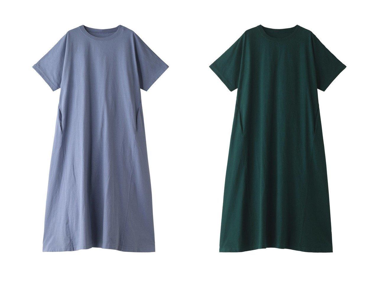 【nest Robe/ネストローブ】のヘビーウェイトコットンジャージードルマンスリーブドレス 【ワンピース・ドレス】おすすめ!人気、トレンド・レディースファッションの通販 おすすめで人気の流行・トレンド、ファッションの通販商品 インテリア・家具・メンズファッション・キッズファッション・レディースファッション・服の通販 founy(ファニー) https://founy.com/ ファッション Fashion レディースファッション WOMEN ワンピース Dress ドレス Party Dresses シンプル トレンド ドレス リゾート ロング 抗菌  ID:crp329100000040339
