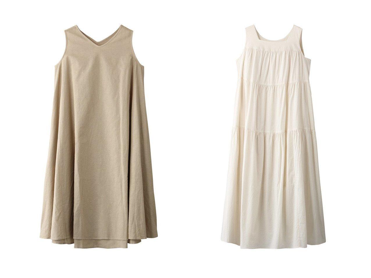 【KID BLUE/キッドブルー】の21ボタニカルリネンワンピース&21コットンローンワンピース 【ワンピース・ドレス】おすすめ!人気、トレンド・レディースファッションの通販 おすすめで人気の流行・トレンド、ファッションの通販商品 インテリア・家具・メンズファッション・キッズファッション・レディースファッション・服の通販 founy(ファニー) https://founy.com/ ファッション Fashion レディースファッション WOMEN ワンピース Dress S/S・春夏 SS・Spring/Summer ノースリーブ フレア リネン 春 Spring エアリー フェミニン  ID:crp329100000040347