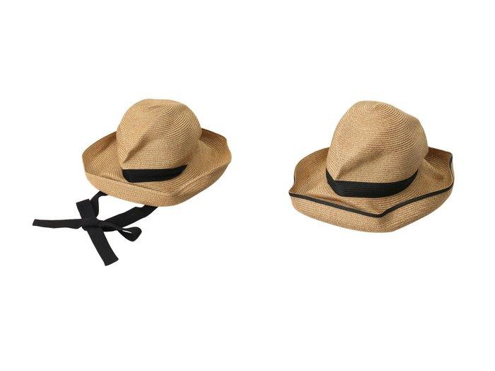 【mature ha./マチュアーハ】のBOXED HAT スイッチカラーラインワイドアバカ(11cm brim)&BOXED HAT ガーデンリボン(11cm brim) おすすめ!人気、トレンド・レディースファッションの通販 おすすめ人気トレンドファッション通販アイテム 人気、トレンドファッション・服の通販 founy(ファニー) ファッション Fashion レディースファッション WOMEN 帽子 Hats ガーデン シンプル リボン 帽子 |ID:crp329100000040394