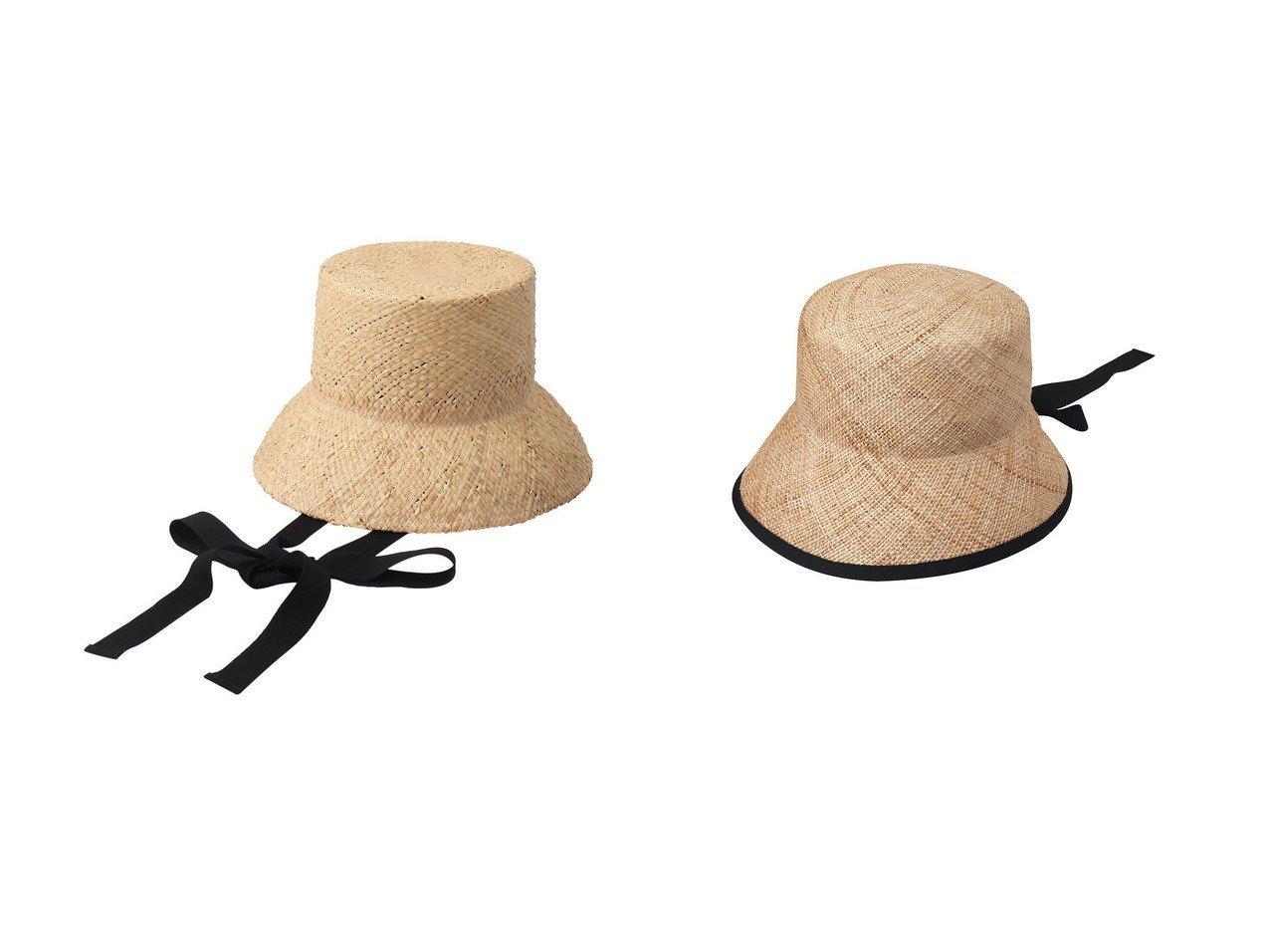 【La Maison de Lyllis/ラ メゾン ド リリス】のKURA クロッシェハット&【nagonstans/ナゴンスタンス】の変形ハット おすすめ!人気、トレンド・レディースファッションの通販 おすすめで人気の流行・トレンド、ファッションの通販商品 インテリア・家具・メンズファッション・キッズファッション・レディースファッション・服の通販 founy(ファニー) https://founy.com/ ファッション Fashion レディースファッション WOMEN S/S・春夏 SS・Spring/Summer おすすめ Recommend フォルム ラフィア リゾート リボン 再入荷 Restock/Back in Stock/Re Arrival 春 Spring |ID:crp329100000040400