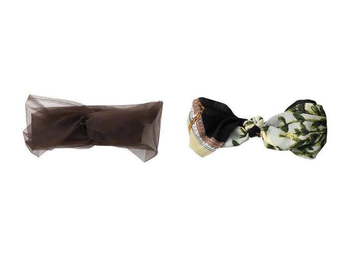 【manipuri/マニプリ】のスカーフノットヘアバンド&【allureville/アルアバイル】のチュールターバン おすすめ!人気、トレンド・レディースファッションの通販 おすすめ人気トレンドファッション通販アイテム 人気、トレンドファッション・服の通販 founy(ファニー) ファッション Fashion レディースファッション WOMEN ターバン チュール フェミニン シルク シンプル スカーフ |ID:crp329100000040426