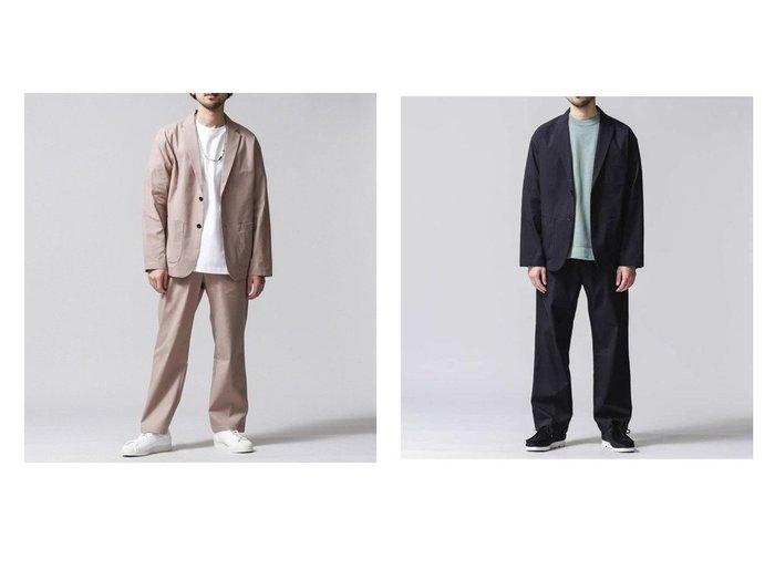 【nano universe / MEN/ナノ ユニバース】のSOLOTEXLinen ジャストイージーセットアップ 【MEN】おすすめ!人気トレンド・男性、メンズファッションの通販 おすすめ人気トレンドファッション通販アイテム 人気、トレンドファッション・服の通販 founy(ファニー) ファッション Fashion メンズファッション MEN セットアップ Setup/Men ジャケット ストレッチ セットアップ リネン  ID:crp329100000040471