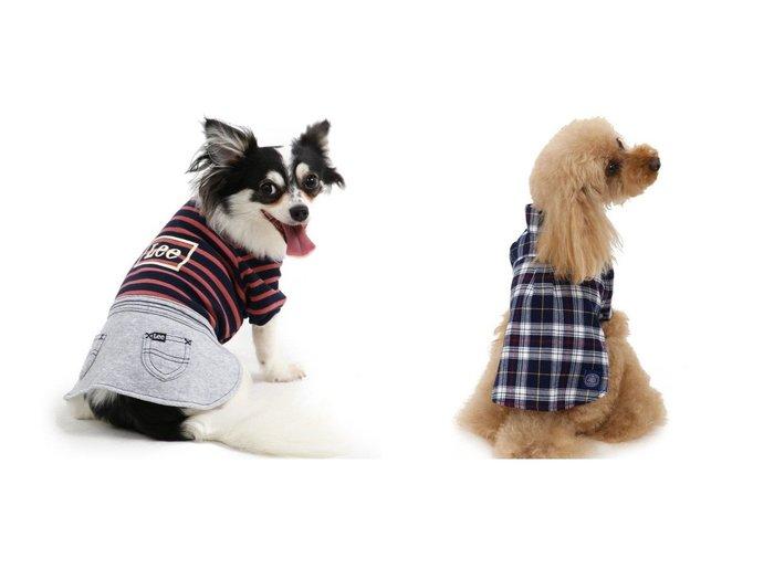 【PET PARADISE/ペットパラダイス】のLee スウェット上下 スカートつなぎ〔超小型・小型犬〕&J.PRESS タータンチェッ クシャツ 〔超小型・小型犬〕 おすすめ!人気、ペットグッズの通販 おすすめ人気トレンドファッション通販アイテム 人気、トレンドファッション・服の通販 founy(ファニー)  送料無料 Free Shipping 犬 Dog ホーム・キャンプ・アウトドア Home,Garden,Outdoor,Camping Gear ペットグッズ Pet Supplies |ID:crp329100000040710