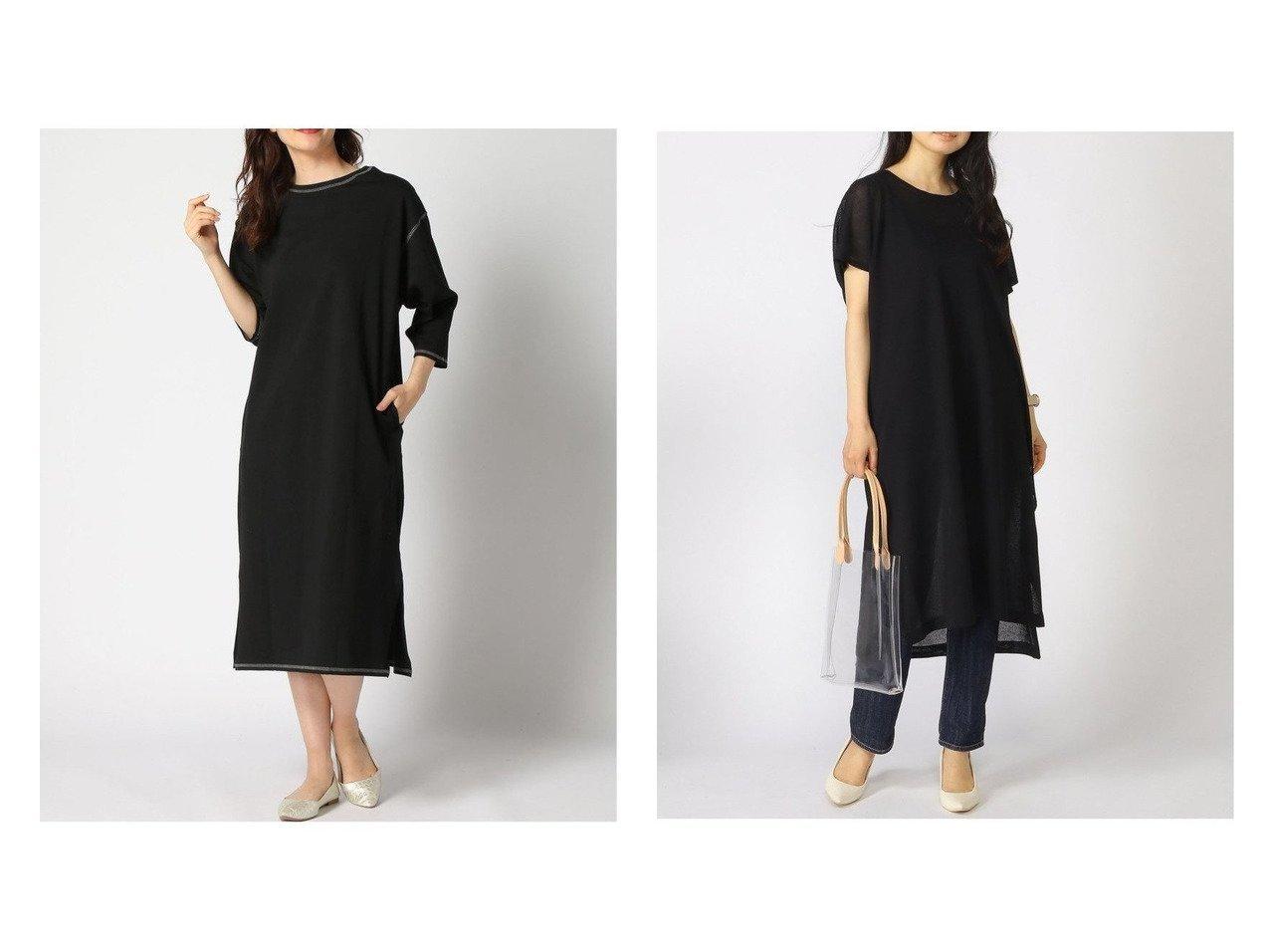 【LEPSIM LOWRYS FARM/レプシィム ローリーズファーム】の16Gシアーニット2PセットOP&ハイショクステッチOP 【プチプライス】おすすめ!人気トレンド・ファッション通販 おすすめで人気の流行・トレンド、ファッションの通販商品 インテリア・家具・メンズファッション・キッズファッション・レディースファッション・服の通販 founy(ファニー) https://founy.com/ ファッション Fashion レディースファッション WOMEN ワンピース Dress ニットワンピース Knit Dresses おすすめ Recommend スウェット 定番 Standard インナー シアー スリット スリーブ チュニック フレンチ |ID:crp329100000040734